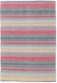 Wilma - Rosa Tapete 120X180 Moderno Tecidos À Mão Cinzento Claro/Lilás (Algodão, Índia)