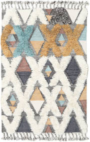 Xavier - Multi Tapete 120X180 Moderno Tecidos À Mão Cinzento Claro/Bege (Lã, Índia)