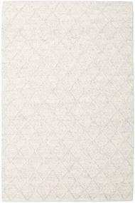Rut - Azul Cinzento Melange Tapete 200X300 Moderno Tecidos À Mão Branco/Creme/Bege Escuro/Bege (Lã, Índia)