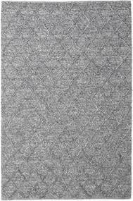 Rut - Cinza Escuro Melange Tapete 200X300 Moderno Tecidos À Mão Cinzento Claro/Cinza Escuro (Lã, Índia)