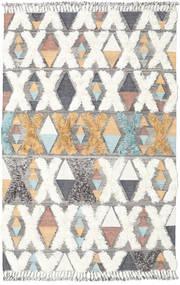 Xavier - Multi Tapete 200X300 Moderno Tecidos À Mão Cinzento Claro/Bege (Lã, Índia)
