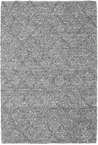 Rut - Cinza Escuro Melange Tapete 160X230 Moderno Tecidos À Mão Cinzento Claro/Castanho Escuro (Lã, Índia)