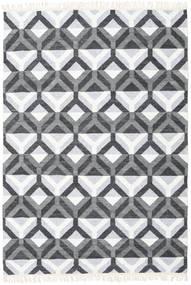 Aino Tapete 160X230 Moderno Tecidos À Mão Azul Claro/Branco/Creme (Lã/Bamboo Seda, Índia)