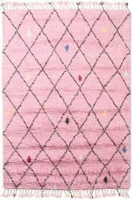 Alta - Magenta Tapete 160X230 Moderno Feito A Mão Luz Rosa (Lã, Índia)