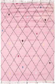 Alta - Magenta Tapete 200X300 Moderno Feito A Mão Luz Rosa (Lã, Índia)