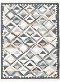 Texcoco Tapete 210X290 Moderno Tecidos À Mão Bege/Cinzento Claro/Cinza Escuro (Lã, Índia)