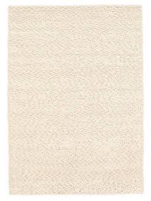 Bubbles - Natural Branco Tapete 200X300 Moderno Bege (Lã, Índia)