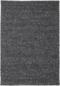 Bubbles - Melange Preto Tapete 250X350 Moderno Cinza Escuro Grande (Lã, Índia)