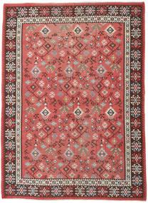 Kilim Russo Tapete 230X312 Oriental Tecidos À Mão Castanho Alaranjado/Vermelho Escuro (Lã, Azerbaijão/Rússia)