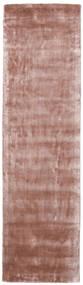 Broadway - Dusty Rose Tapete 80X300 Moderno Tapete Passadeira Luz Rosa/Vermelho Escuro ( Índia)