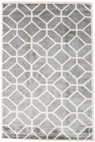 Palace Tapete 200X300 Moderno Feito A Mão Cinzento Claro/Branco/Creme ( Índia)