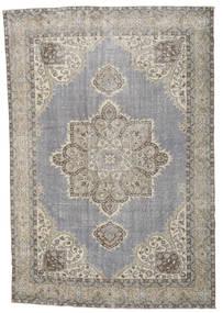 Colored Vintage Tapete 213X318 Moderno Feito A Mão Cinzento Claro/Branco/Creme (Lã, Turquia)