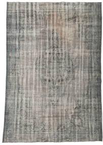 Colored Vintage Tapete 217X307 Moderno Feito A Mão Cinzento Claro/Cinza Escuro (Lã, Turquia)