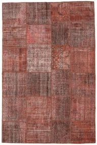Patchwork Tapete 197X301 Moderno Feito A Mão Castanho Claro/Castanho (Lã, Turquia)