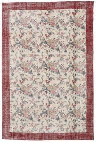 Colored Vintage Tapete 207X314 Moderno Feito A Mão Cinzento Claro/Branco/Creme (Lã, Turquia)