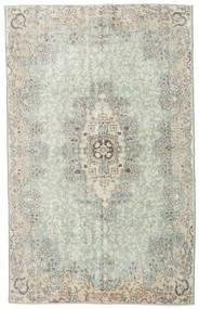 Colored Vintage Tapete 178X286 Moderno Feito A Mão Cinzento Claro/Verde Pastel (Lã, Turquia)