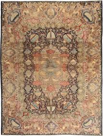 Kashmar Patina Tapete 290X380 Oriental Feito A Mão Castanho Claro/Castanho Grande (Lã, Pérsia/Irão)