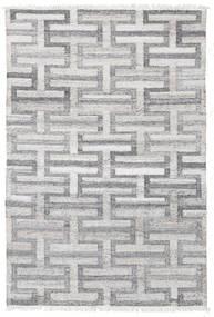 Tapete De Exterior Path - Cinzento Tapete 140X200 Moderno Tecidos À Mão Cinzento Claro/Cinza Escuro ( Índia)