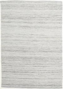 Alva - Cinzento/Branco Tapete 160X230 Moderno Tecidos À Mão Cinzento Claro (Lã, Índia)