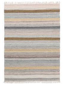 Ester Tapete 160X230 Moderno Tecidos À Mão Cinzento Claro/Bege (Lã, Índia)