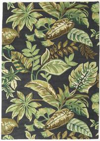 Jungel - Verde/Preto Tapete 160X230 Moderno Verde Escuro/Verde Claro/Cinza Escuro (Lã, Índia)