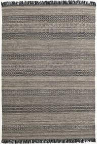 Hedda - Castanho Tapete 160X230 Moderno Tecidos À Mão Cinza Escuro/Cinzento Claro (Lã, Índia)