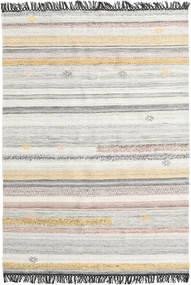 Ragna Tapete 160X230 Moderno Tecidos À Mão Cinzento Claro/Bege (Lã, Índia)