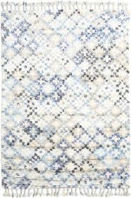Greta Tapete 160X230 Moderno Feito A Mão Branco/Creme/Bege (Lã, Índia)