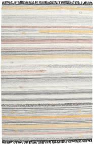 Ragna Tapete 200X300 Moderno Tecidos À Mão Cinzento Claro/Bege Escuro (Lã, Índia)