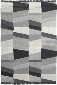 Viola - Cinzento/Preto Tapete 200X300 Moderno Tecidos À Mão Cinzento Claro/Preto (Lã, Índia)