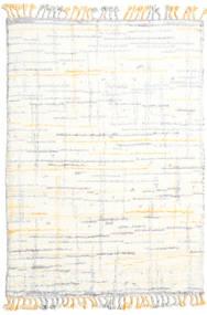 Rakel Tapete 160X230 Moderno Feito A Mão Bege/Branco/Creme (Lã, Índia)