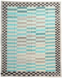 Kilim Ariana Tapete 241X294 Moderno Tecidos À Mão Azul Turquesa/Bege (Lã, Afeganistão)