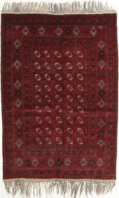 Afegão Khal Mohammadi Tapete 132X182 Oriental Feito A Mão Vermelho Escuro/Cinzento Claro (Lã, Afeganistão)