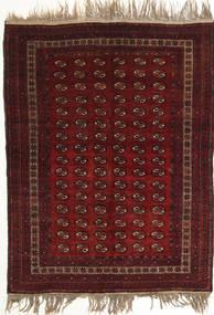 Afegão Khal Mohammadi Tapete 134X180 Oriental Feito A Mão Vermelho Escuro (Lã, Afeganistão)