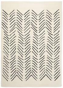 Scandic Lines - 2018 Tapete 160X230 Moderno Bege/Cinza Escuro (Lã, Índia)