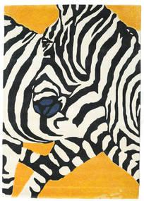 Zebra - 2018 Tapete 160X230 Moderno Bege/Preto (Lã, Índia)