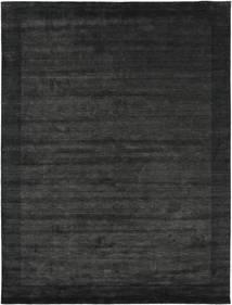 Handloom Frame - Preto/Cinza Escuro Tapete 300X400 Moderno Cinza Escuro/Verde Escuro Grande (Lã, Índia)