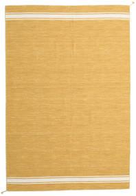 Ernst - Amarelo Mostarda/Branco Pérola Tapete 250X350 Moderno Tecidos À Mão Castanho Claro/Amarelo Grande (Lã, Índia)