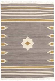 Tribal - Cinzento Tapete 160X230 Moderno Tecidos À Mão Cinzento Claro/Bege (Lã, Índia)