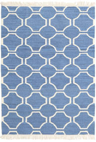 London - Azul/Branco Pérola Tapete 160X230 Moderno Tecidos À Mão Azul/Bege (Lã, Índia)