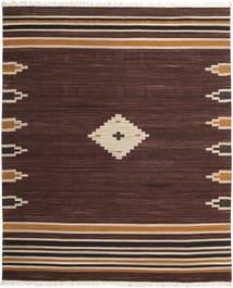 Tribal - Castanho Tapete 250X300 Moderno Tecidos À Mão Castanho Escuro Grande (Lã, Índia)