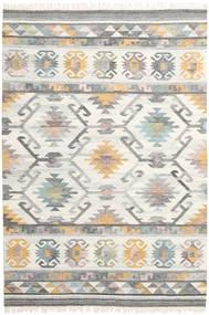 Mirza Tapete 200X300 Moderno Tecidos À Mão Cinzento Claro/Bege (Lã, Índia)