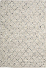 Rut - Prata/Cinzento Melange Tapete 200X300 Moderno Tecidos À Mão Cinzento Claro/Bege Escuro (Lã, Índia)