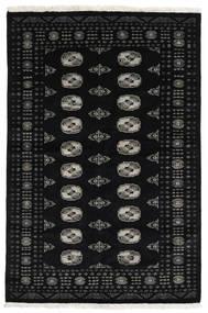 Paquistão Bucara 3Ply Tapete 138X208 Oriental Feito A Mão Preto (Lã, Paquistão)