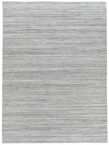 Tapete De Exterior Petra - Light_Mix Tapete 140X200 Moderno Tecidos À Mão Cinzento Claro/Branco/Creme ( Índia)