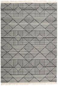 Mauri Tapete 160X230 Moderno Tecidos À Mão Cinza Escuro/Cinzento Claro/Bege Escuro (Lã, Índia)