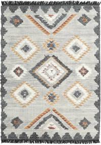 Dixie Tapete 170X240 Moderno Tecidos À Mão Cinzento Claro/Bege Escuro (Lã, Índia)