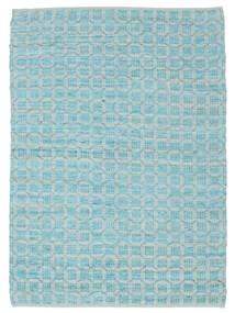 Elna - Bright_Blue Tapete 170X240 Moderno Tecidos À Mão Azul Claro/Azul Turquesa (Algodão, Índia)