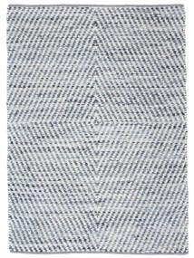 Hilda - Denim/Branco Tapete 170X240 Moderno Tecidos À Mão Bege/Azul Claro (Algodão, Índia)