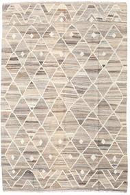 Kilim Ariana Tapete 169X252 Moderno Tecidos À Mão Cinzento Claro/Bege (Lã, Afeganistão)